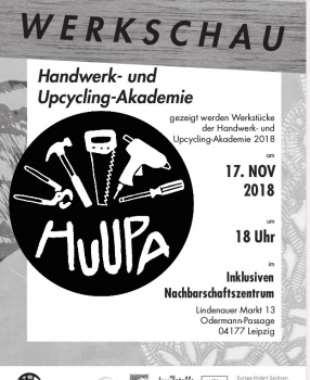 HuUpA!-Werkschau am 17.11.2018 – safe the date