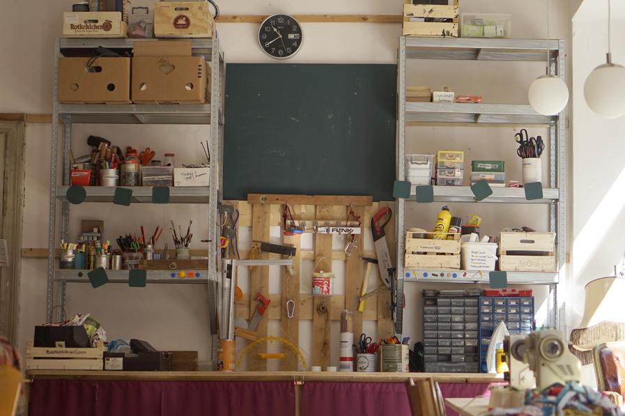 krimZkrams offene Werkstatt