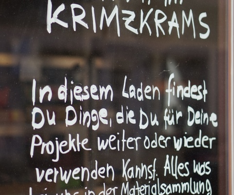 Am 9.12.20 bleibt das krimZkrams geschlossen