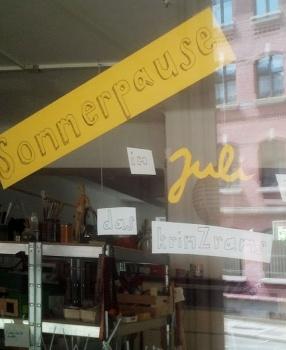 Sommerpause:  Im Juli bleibt das krimZkrams geschlossen