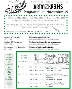Programm für November