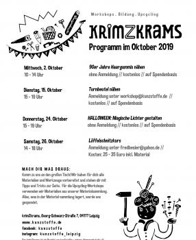 Programm im Oktober