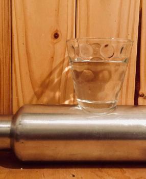 Ich trinke Leitungswasser!