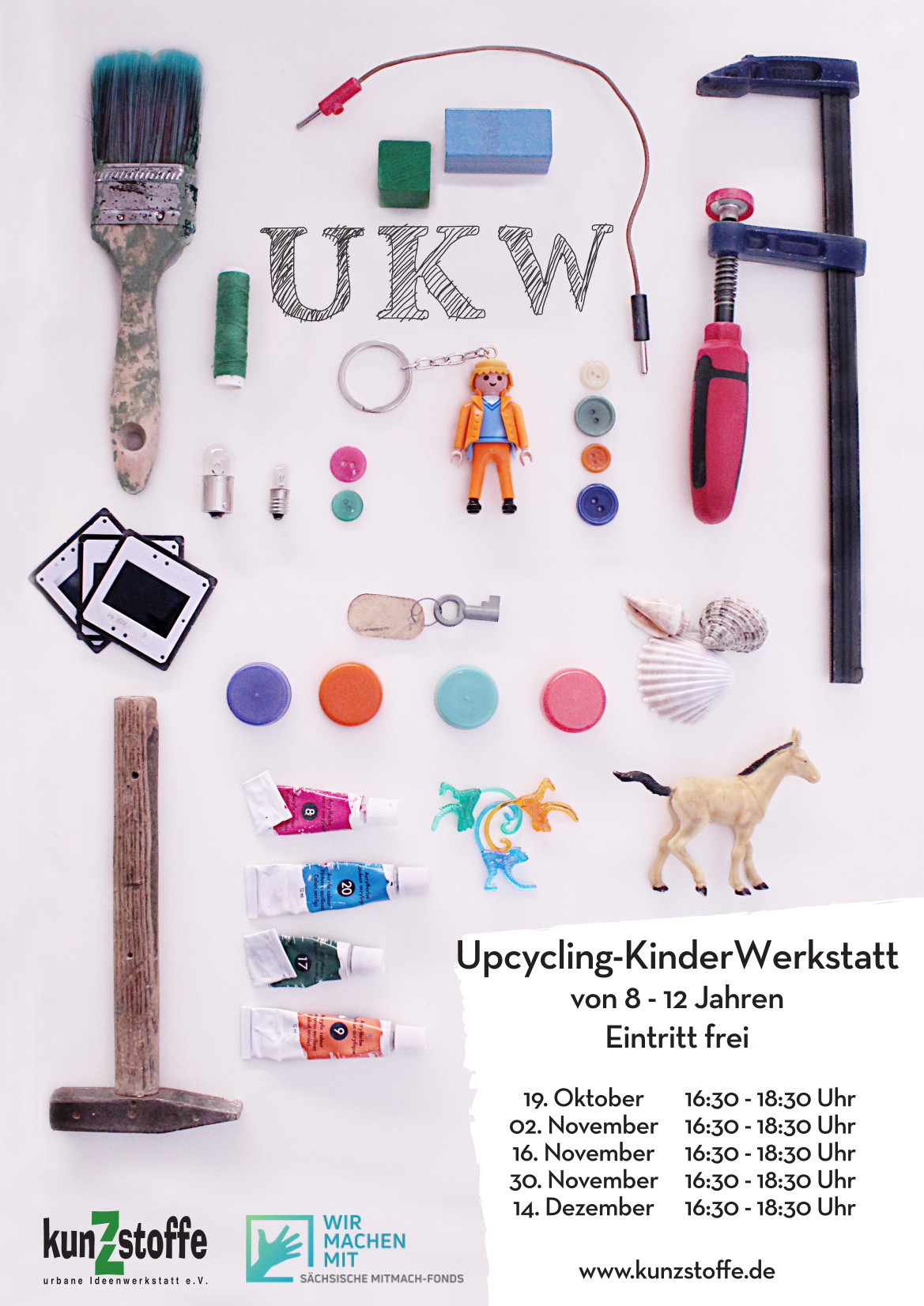 UKW – Upcycling KinderWerkstatt – Fällt leider aus!